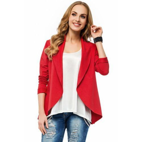Makadamia Bluza damska model m226 red