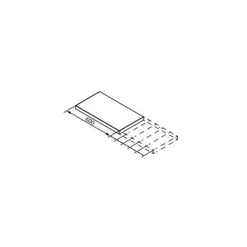Dodatkowe 10 cm do blatu q4 grafit oraz biały q4-fit marki Lanzet