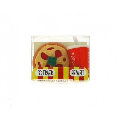 Blueprint Gumki do mazania – zestaw pizza + cola