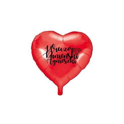 Party deco Balon foliowy serce personalizowany na wieczór panieński - 45 cm - 1 szt. (5907509915604)