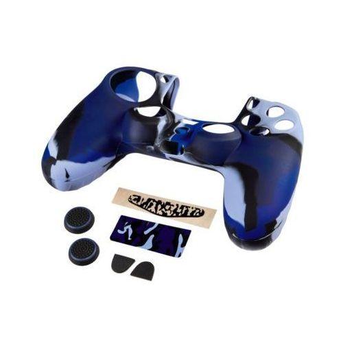 Zestaw 7w1 HAMA Blue Camo do kontrolera Dualshock 4 ()