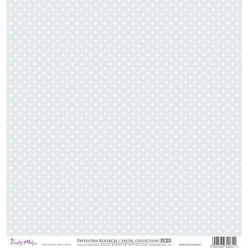 Ozdobny papier 30,5x30,5 cm - szary - sza marki Crafty moly