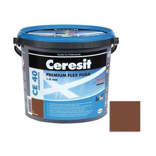 Ceresit Fuga cementowa wodoodporna ce40 brązowy 5 kg