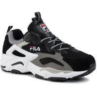 Sneakersy FILA - Ray Tracer 1010685.12S Black/White, kolor czarny