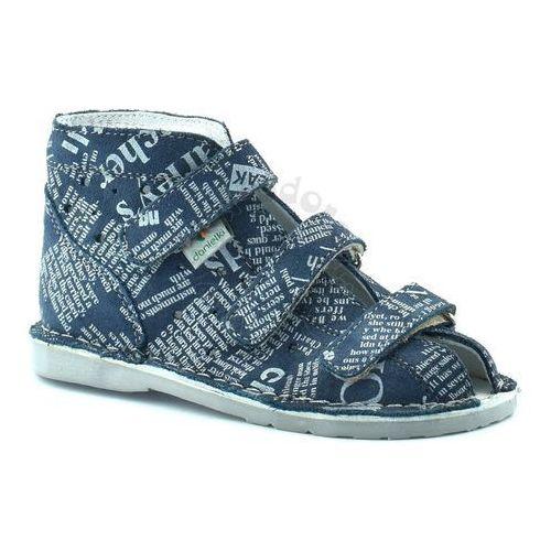 Dziecięce buty profilaktyczne t105l/t115l jeans marki Danielki