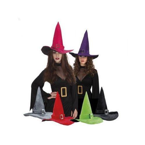 Kapelusz czarownicy z klamrą - 6 kolorów