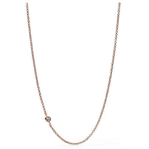 Biżuteria Fossil - Naszyjnik JF01885791 - SALE -30% (4053858465114)