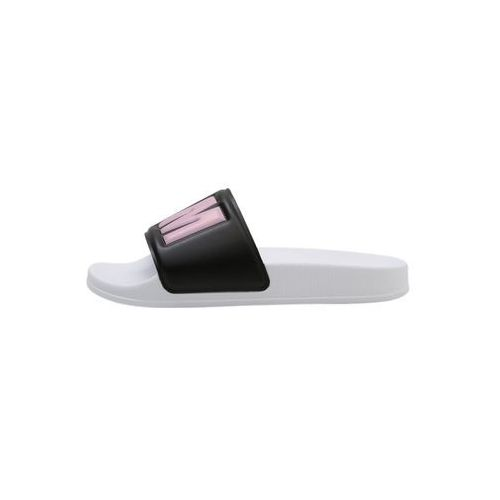 MSGM Kapcie black/pink/white