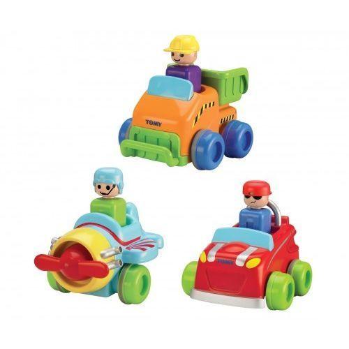 Zabawka TOMY Infant pojazdy naciśnij i jedź, 1_502082