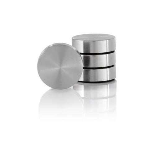 Zestaw 4 magnesów z podładką - - muro - 2,5 cm marki Blomus