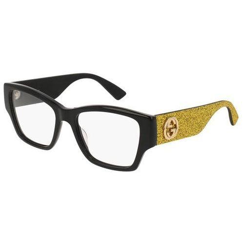 Okulary korekcyjne gg0104o 002 marki Gucci