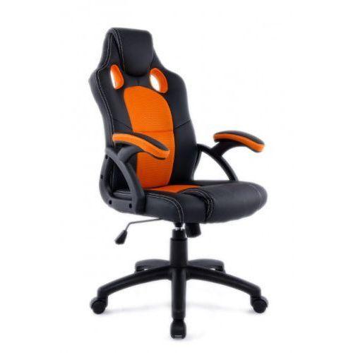 Fotel obrotowy gamingowy X6 Black/Dark Orange