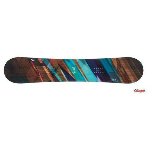 Deska snowboardowa pride + nx fay i black 2018/2019 marki Head