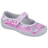 Befado buty dziewczęce blanca 25 różowy (5907669015787)