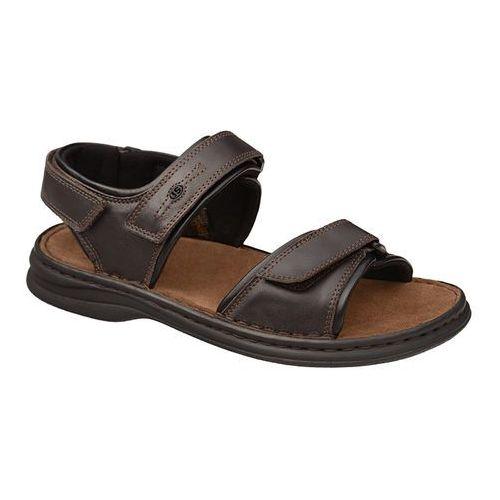 Sandały 10104 57 331 rafe moro/schwarz brązowe - brązowy marki Josef seibel
