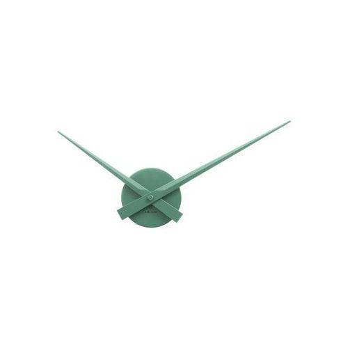 Zegar ścienny Little Big Time Mini green by Karlsson, KA4348GR
