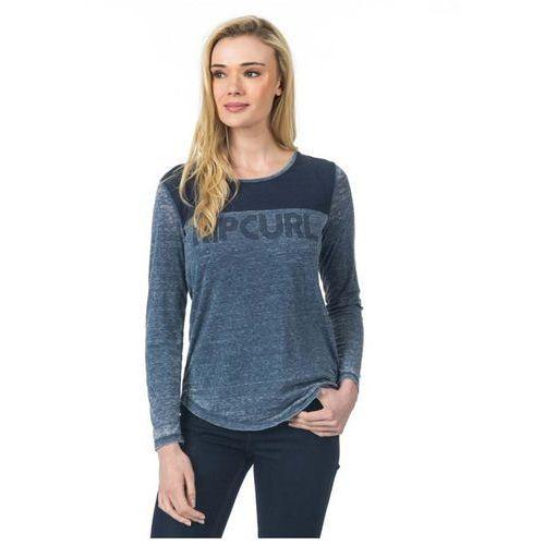 Koszulka - delano ls tee insignia blue (8008) rozmiar: xs, Rip curl
