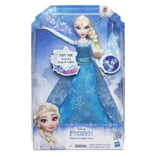 Lalka HASBRO Frozen Rozświetlona śpiewająca Elsa + Zamów z DOSTAWĄ JUTRO! + DARMOWY TRANSPORT! (5010994980344)