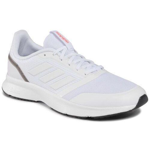 Buty adidas - Nova Flow EH1362 Ftwwht/Ftwwht/Gresix, kolor biały