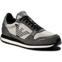 Sneakersy - x4x215 xl198 a927 ash/ash/ash, Emporio armani, 43-45
