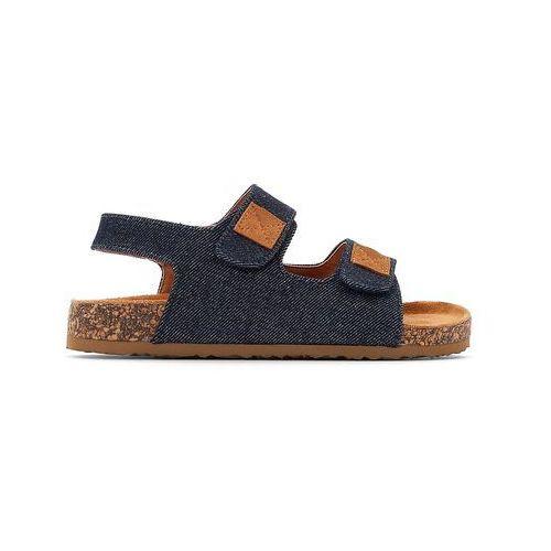 Sandały płócienne, kolor niebieski