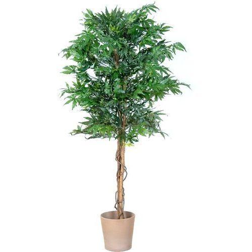 Plantasia ® Sztuczne drzewo marihuana kwiaty drzewko marihuany - 150 cm