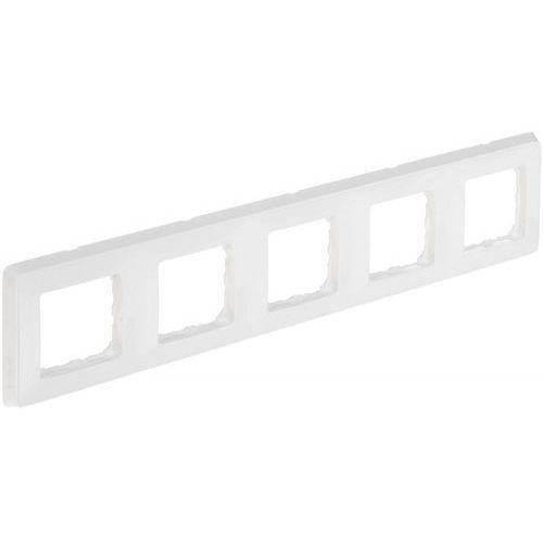Legrand cariva ramka pięciokrotna biała 773655 (3245067736555)