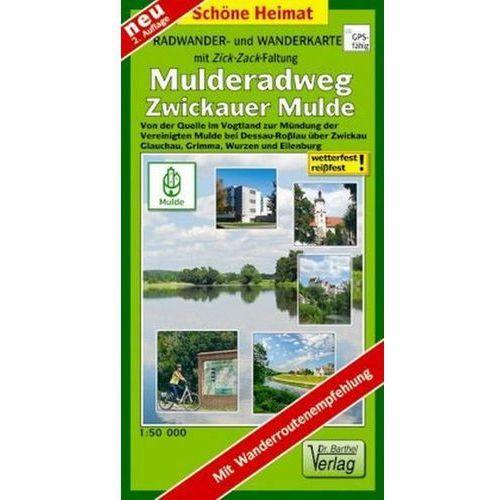 Doktor Barthel Karte Mulderadweg Zwickauer Mulde (9783895911583)