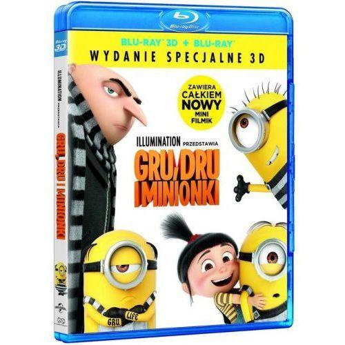 Filmostrada Gru,dru i minionki 3d (blu-ray disc 3d) - . darmowa dostawa do kiosku ruchu od 24,99zł (5902115603716)
