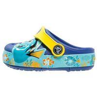 Crocs CROCSLIGHTS FINDING DORY Klapki cerulean blue/lemon, 202881