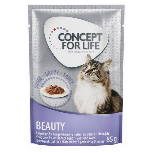 Concept for life beauty w sosie - 24 x 85 g| darmowa dostawa od 89 zł + promocje od zooplus!| -5% rabat dla nowych klientów (4260358514970)