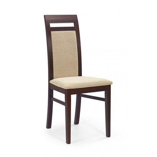 Halmar Nowoczesne krzesło albert ciemny orzech / gwarancja 24m / najtańsza wysyłka!
