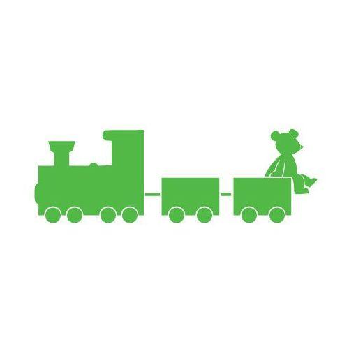 Naklejka dekoracyjna dla dzieci 47 - ciuchcia marki Szabloneria