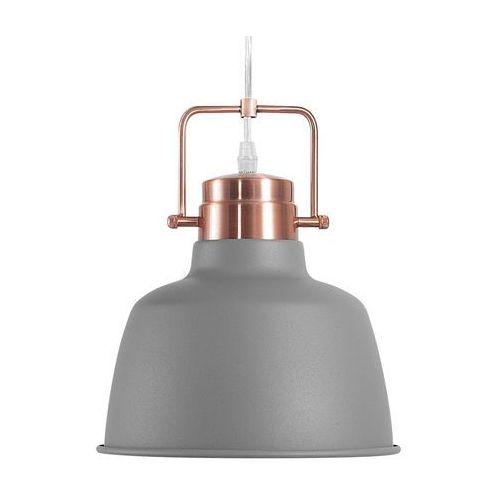 Lampa wisząca szaro-miedziana NARMADA (4260586352849)