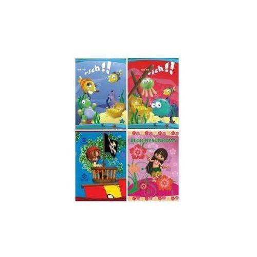 Blok rysunkowy A4 20 - X04578
