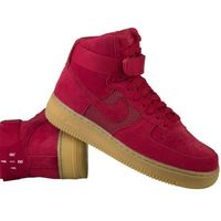 air force 1 high '07 lv8 806403-601 - czerwony marki Nike