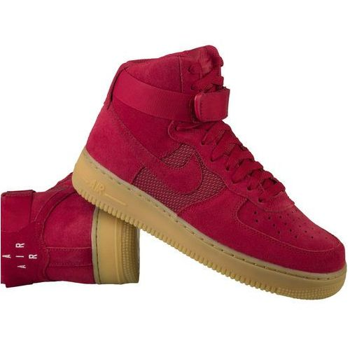 air force 1 high '07 lv8 806403-601 - czerwony, Nike