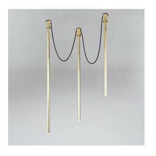 LAMPA sufitowa ALHA Y 9331 Shilo metalowa OPRAWA downlight sople tuby mosiądz