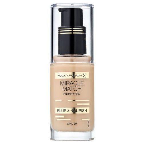 miracle match podkład do twarzy o działaniu nawilżającym 60 sand - 60 sand marki Max factor