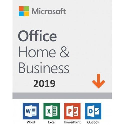 office home & business 2019 esd pl win/mac, nowa licencja redencja marki Microsoft