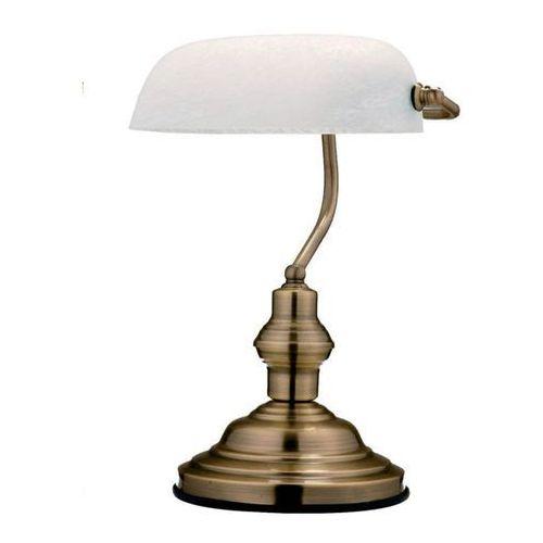GLOBO 2492 – Lampa stołowa ANTIQUE 1xE27/60W biała (9007371148486)