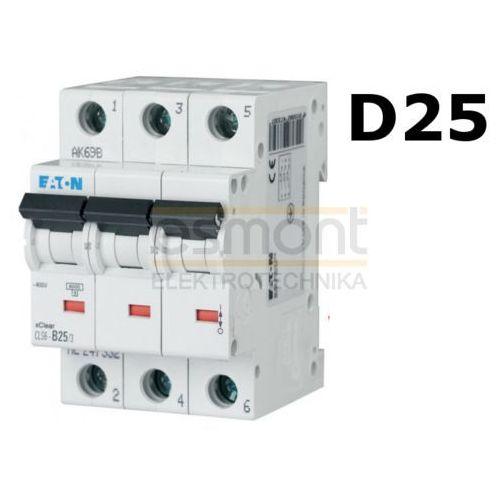 Eaton 270434 - wyłącznik nadprądowy cls6 3p d25