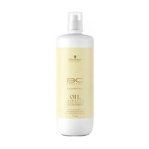 Schwarzkopf  bc oil miracle lekki szampon 1000ml (4045787347296)