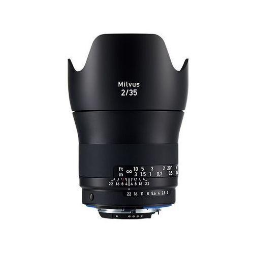 35mm f/2 milvus zf.2 (nikon) - 3 lata gwarancji - przyjmujemy używany sprzęt w rozliczeniu   raty 20 x 0% marki Carl zeiss