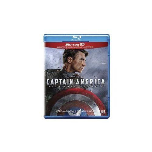 Kapitan Ameryka. Pierwsze starcie 3D i 2D [Blu-ray] (7321917502337)