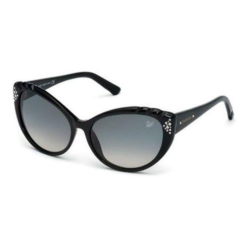 Okulary słoneczne sk 0055 01b marki Swarovski