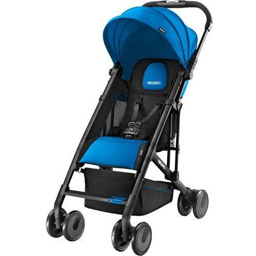 wózek sportowy easylife saphire, czarny stelaż marki Recaro