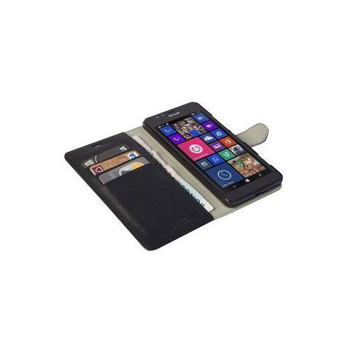 Krusell Etui Boras FolioWallet do Microsoft Lumia 950 - Czarne DARMOWA DOSTAWA DO 400 SALONÓW !!, kolor Krusell