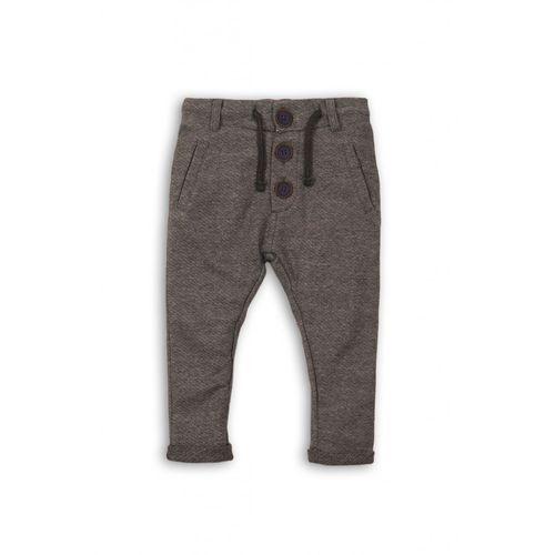Spodnie chłopięce dzianinowe 1m35b3 marki Minoti