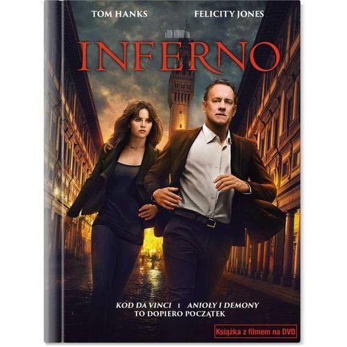 Inferno (DVD + Książeczka) - Ron Howard (5903570159398)